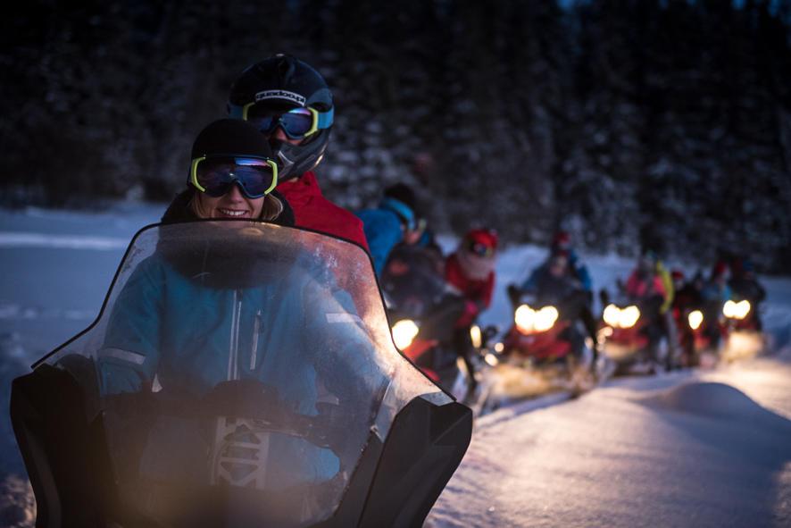 Sylwester na skuterach śnieżnych HIT
